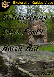 Rediscovering Edsel Ford's Haven Hill DVD Cover